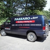 Nazzaro & Sons Plumbing & Heating Service Van
